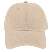 OTTO Garment Washed Superior Combed Cotton Twill Six Panel Low Profile Dad Hat